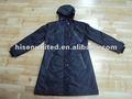 Las señoras de moda taslon desgaste de la lluvia, taslon señoras capa de lluvia, taslon chaqueta para la lluvia