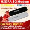 HSDPA usb interface modem 7.2Mbps wireless modem