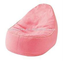 hot pink soft suede bean bag chair , beanbag sofa