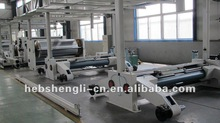 WJ series five layer corrugated cardboard production line making machinery mill roll stand