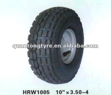 3.50-4 Big flower pattern Rubber Wheel,Hand trolley wheel,Air wheel (high quality)