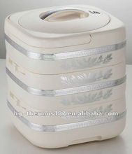 Cold and hot food storage box