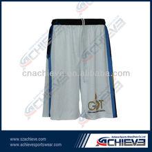 factory 2013 latest basketball shorts design for team team