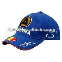 100% cotton golf caps golf hats
