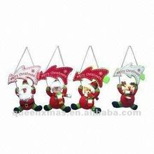 Santa Snowman Bear Reindeer Christmas Tree Ornament