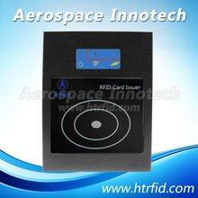 Short-range UHF RFID desktop reader and writer, issuer