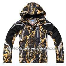 2012 Men's fashion outdoor winter ski jacket