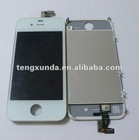 Cell mobile phone white for iphone 4g lcd touch screen