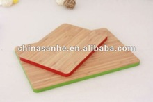 bamboo cutting board chopping block with color edge
