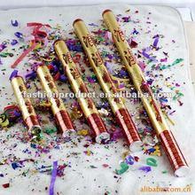 2012 il nuovo design e dimensioni diverse oro partito poppers prezzo