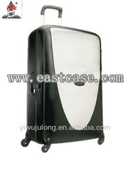 2013 new style 3 pcs PP trolley luggage flexible wheels good quality