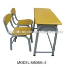 powerful double school furniture M808M-2