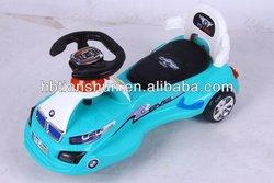 Hot sale kids Swing car/EN71 quality ride on toy/ rid on car