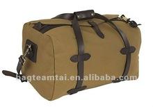 Cotton Canvas Travel Duffel Bag