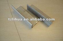 standard size of mild steel angle