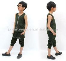 2012 lastest style boys cotton summer clothing set