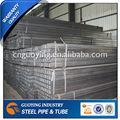 pipa de acero rectangular