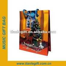 2012 Musical Christmas Paper Bag