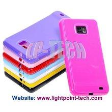 Wholesale tpu gel skin case for samsung i9100 galaxy s2