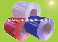 enough stocks ISO9001:2000 heat-resistend,anti-oxidation prepainted galvanized steel coil