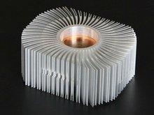 LED street lamp aluminium heat sink