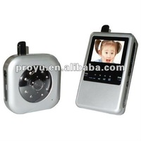 2.5 inch Digital wireless Long distance and Night vision baby monitor B08