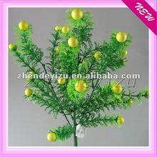Aritificial plastic flower for decorative the vase aquarium 34''