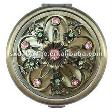 brass pocket make up mirror supperlier