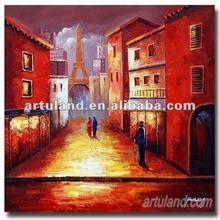 Handmad decorate oil painting