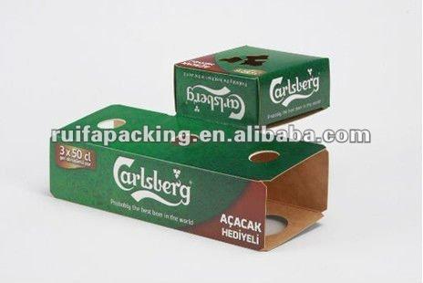 Full printing beer box for Carlsbro