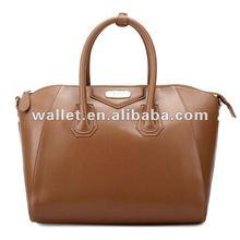 Hand bag 2012 new style Lady's fashion genuine leaher handbag tote bag