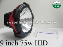 farm hid tractor worklight for 4x4 9inch 75w with cover