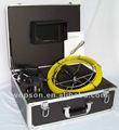 El sistema impermeable de la cámara de la inspección de la pipa IP68 con el monitor de color de 7inch TFT y los 50M cablegrafían la rueda