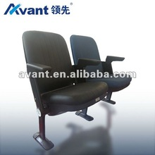 Avant Horit folding upholstered seating stadium chair arena seating fixed seat