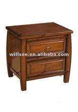 AH-11149,Wooden Antique End Cabinet with Honey colour/Antique chest