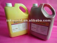 2014 High quality solvent ink for XAAR/Seiko/Spectra/Polaris printer head