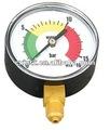 Calibrador de presión estándar Y63 en lente de acrílico