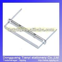 Metal binder paper clips novelty paper clips