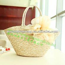 straw beach bags