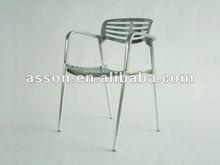 Jorge Pensi-Gallery Toledo Aluminum Dining Chair (#AYP0001)Modern Classic Furniture/ Designer Furniture