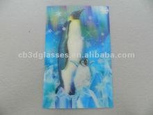 lenticular 3D postcard of dolphin