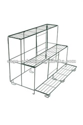 3 tiered decorative home&garden metal plant stand