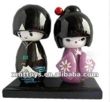 popular japanese kokeshi dolls