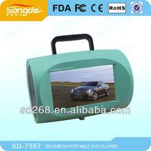 7 inch Portable mini Car dvd player