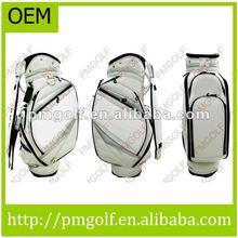 Custom Leather Golf Club Bag
