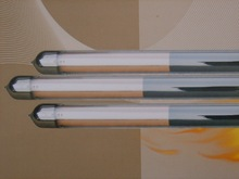 glass evacuated solar collector tube