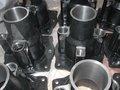 tren de freno cilindro final de resina de arena de fundición de piezas de tren