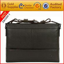 2012 latest design leather business shoulder bags suit for gentlemen