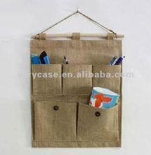 two layer natural jute keeper bag, jute storage keeper