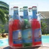 Promotional PVC ice bag for 6 beers bottle
